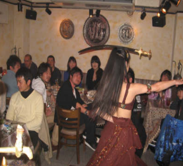 ベリーダンスショー イベント